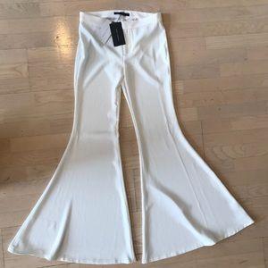 Zara Super Extra flare bell bottom pants xs